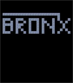 Title screen of Bronx on the Arcade.