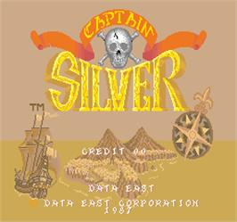 Title screen of Captain Silver on the Arcade.