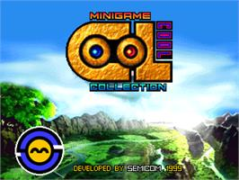 Title screen of Cool Minigame Collection on the Arcade.