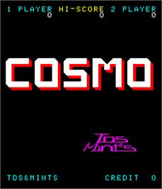 Title screen of Cosmo on the Arcade.