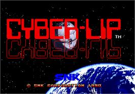 Title screen of Cyber-Lip on the Arcade.