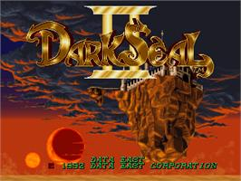 Title screen of Dark Seal 2 on the Arcade.