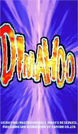 Title screen of Dimahoo on the Arcade.