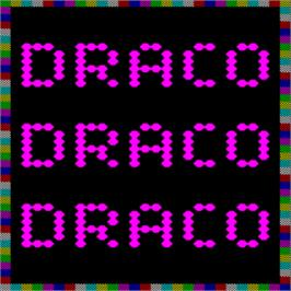 Title screen of Draco on the Arcade.