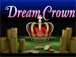Title screen of Dream Crown on the Arcade.