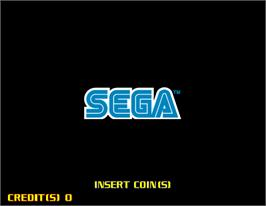 Title screen of Fighting Vipers 2 on the Arcade.
