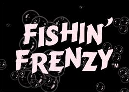 Title screen of Fishin' Frenzy on the Arcade.