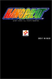 Title screen of Hang Pilot on the Arcade.