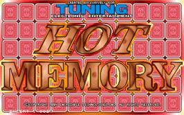 Title screen of Hot Memory on the Arcade.