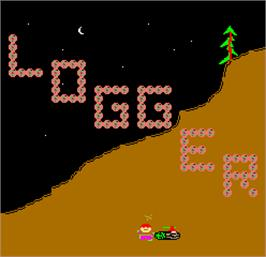 Title screen of Logger on the Arcade.