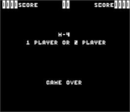 Title screen of M-4 on the Arcade.