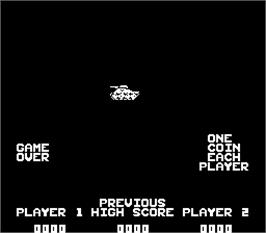 Title screen of M-79 Ambush on the Arcade.