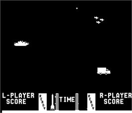 Title screen of Missile X / Guided Missile on the Arcade.