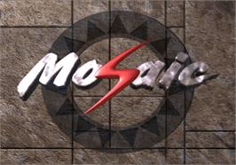 Title screen of Mosaic on the Arcade.