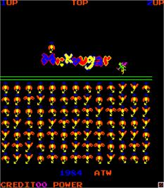 Title screen of Mr. Kougar on the Arcade.