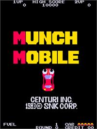 Title screen of Munch Mobile on the Arcade.
