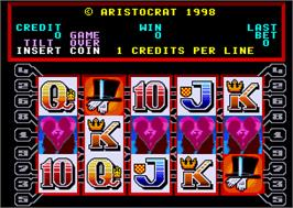 Title screen of Phantom Pays on the Arcade.