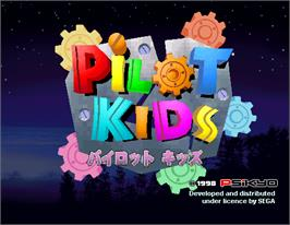 Title screen of Pilot Kids on the Arcade.