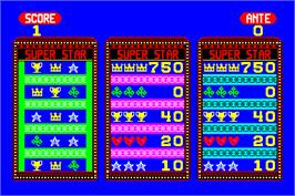 Title screen of Pull Tabs on the Arcade.