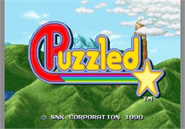Title screen of Puzzled / Joy Joy Kid on the Arcade.