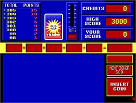 Title screen of Quick Jack on the Arcade.