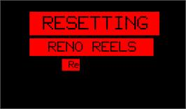 Title screen of Reno Reels on the Arcade.