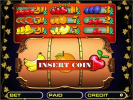 Title screen of Roll Fruit on the Arcade.