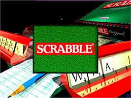 Title screen of Scrabble on the Arcade.