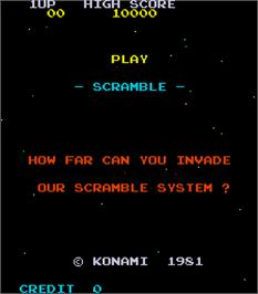Scramble - Arcade - Games Database