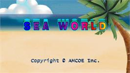 Title screen of Sea World on the Arcade.