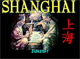 Title screen of Shanghai on the Arcade.