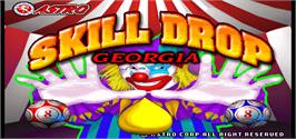 Title screen of Skill Drop Georgia on the Arcade.