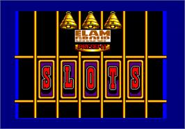 Title screen of Slots on the Arcade.