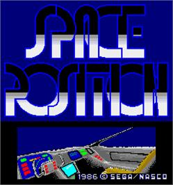 Title screen of Space Position on the Arcade.