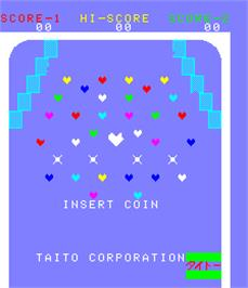 Title screen of Straight Flush on the Arcade.