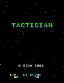 Title screen of Tactician on the Arcade.