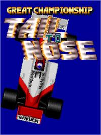 Title screen of Tail to Nose - Great Championship on the Arcade.