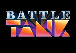 Title screen of Tank Battle on the Arcade.