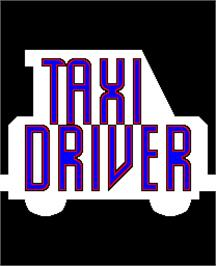 Title screen of Taxi Driver on the Arcade.