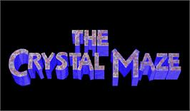 Title screen of The Crystal Maze on the Arcade.