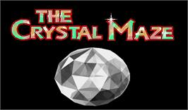 Title screen of The New Crystal Maze Featuring Ocean Zone on the Arcade.