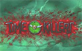 Title screen of Time Killers on the Arcade.