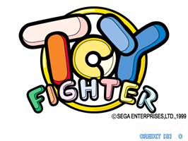 Title screen of Toy Fighter on the Arcade.
