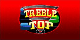 Title screen of Treble Top on the Arcade.