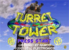 Title screen of Turret Tower on the Arcade.