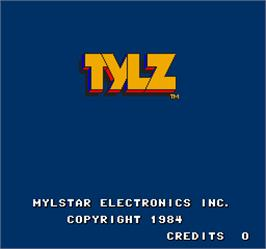 Title screen of Tylz on the Arcade.