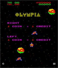 Title screen of Vega on the Arcade.