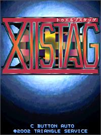 Title screen of XII Stag on the Arcade.