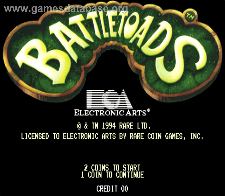 Battle Toads - Arcade - Games Database. Size: 1440x1260 Filesize: 150 Kb