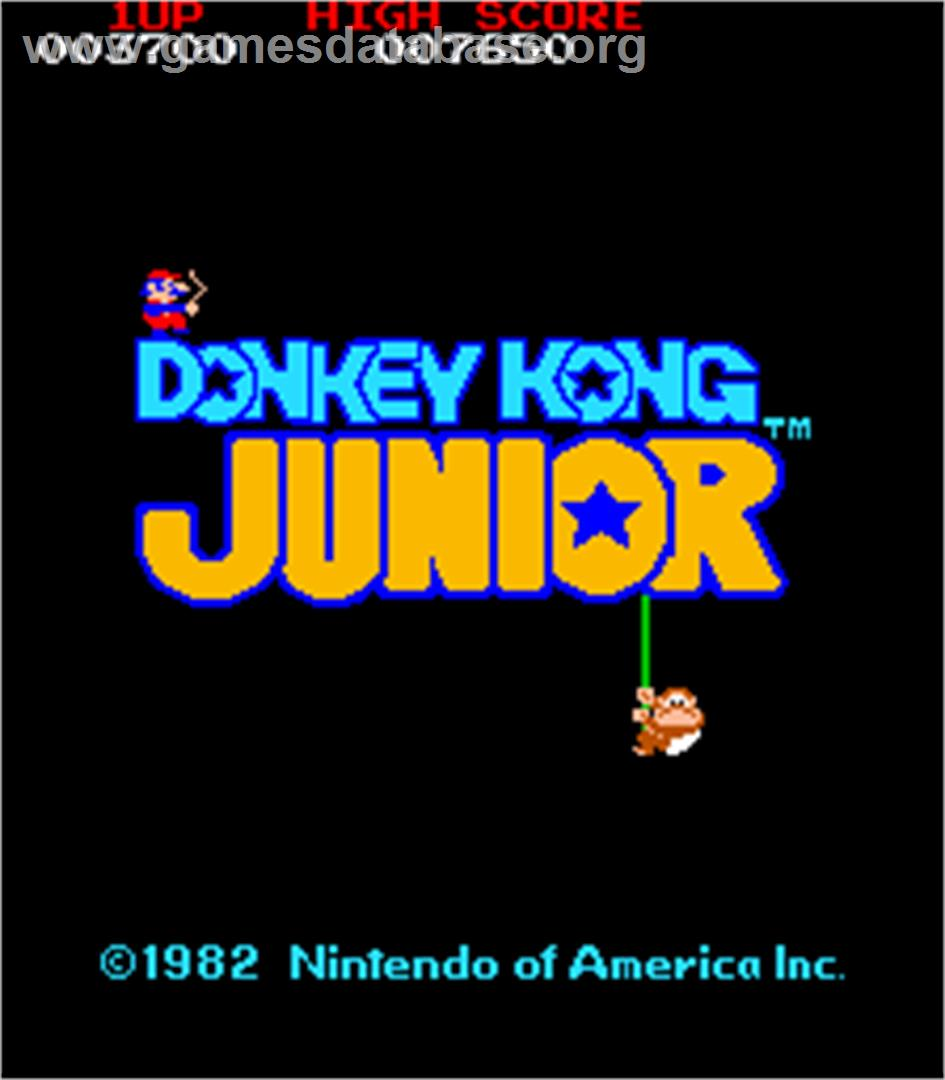 donkey kong arcade logo. Black Bedroom Furniture Sets. Home Design Ideas